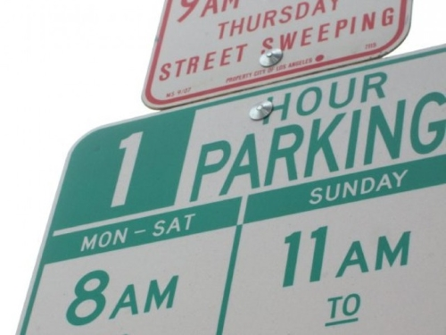 City Of Los Angeles Parking Violation >> Advocacy Group Wants Los Angeles City Hall To Lower Parking