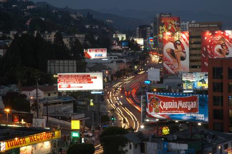 The famous Sunset Strip lies within the borders of the City of West Hollywood
